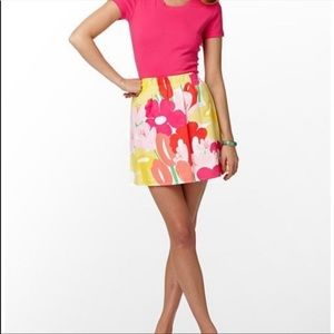 Lilly Pulitzer Floral Print Briar Skirt